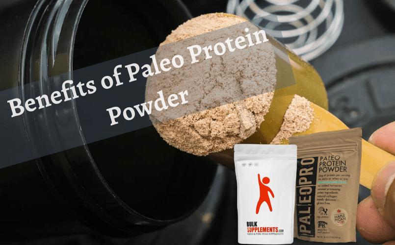 Benefits of Paleo Protein Powder