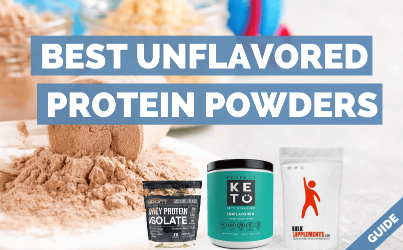 Unflavored Protein Powder
