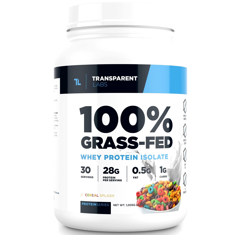 Grass-Fed Transparent Labs