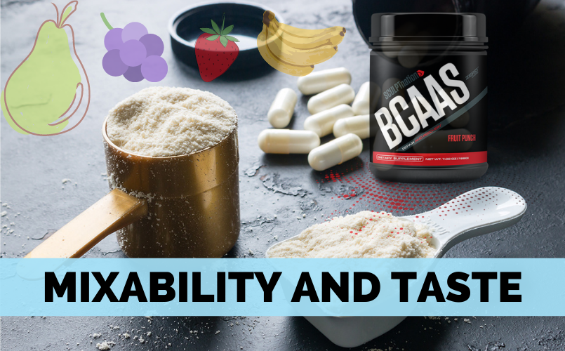 Mixability and Taste