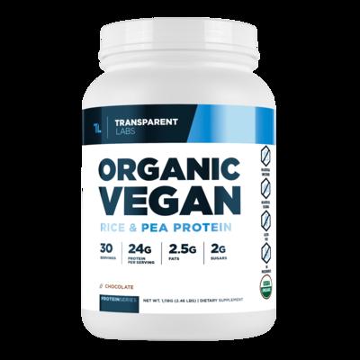 TransparentLabs Organic Vegan Pea